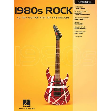 Easy Guitar: 1980's Rock
