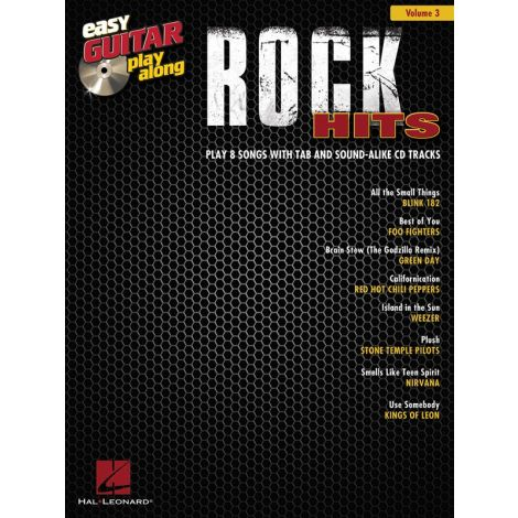 Easy Guitar Play-Along Volume 3: Rock Hits