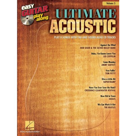 Easy Guitar Play-Along Volume 5: Ultimate Acoustic