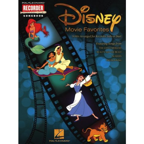 Disney Movie Favourites (Recorder)