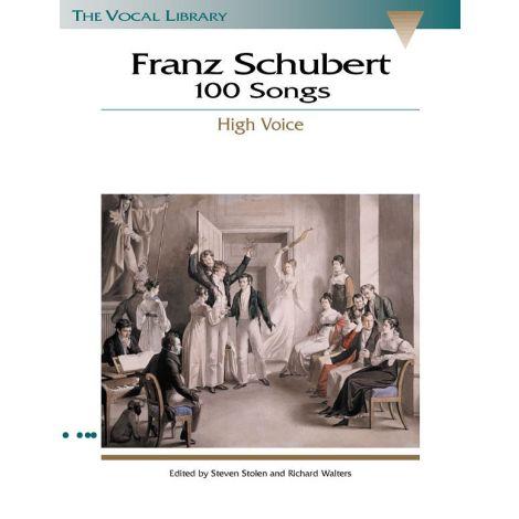 Franz Schubert: 100 Songs - High Voice