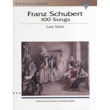 Franz Schubert: 100 Songs - Low Voice