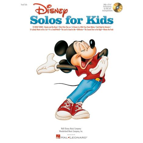 Disney Solos For Kids (Book/Online Audio)