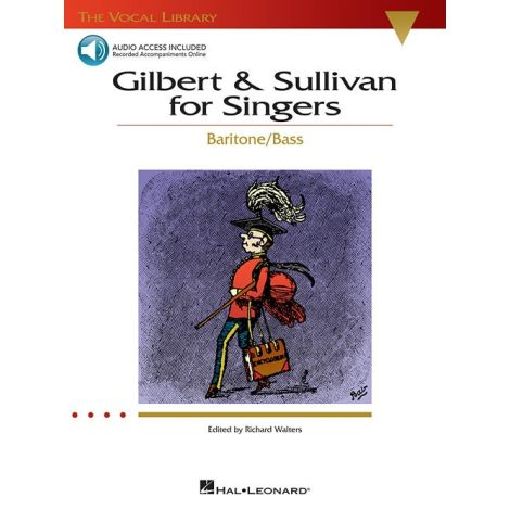 Gilbert And Sullivan For Singers - Baritone/Bass (Book/Online Audio)