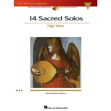 14 Sacred Solos - High Voice (Book/Online Audio)
