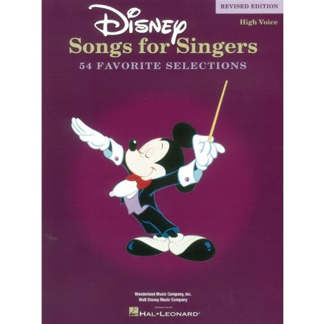 Disney Songs For Singers: High Voice - Revised Edition