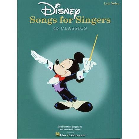 Disney Songs For Singers: Low Voice