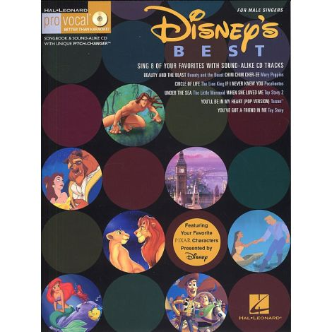 Disney's Best - Men's Edition (Book and CD)