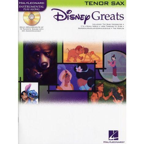 Disney Greats: Tenor Saxophone