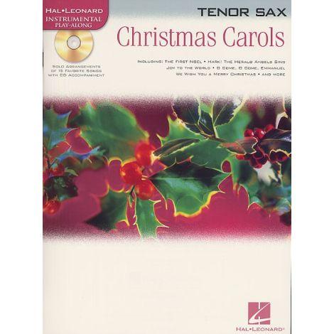 Hal Leonard Instrumental Play-Along: Christmas Carols (Tenor Saxophone)