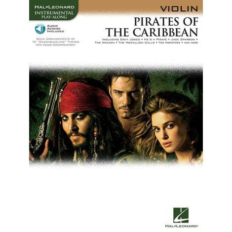 Klaus Badelt: Pirates Of The Caribbean (Violin) (Book/Online Audio)