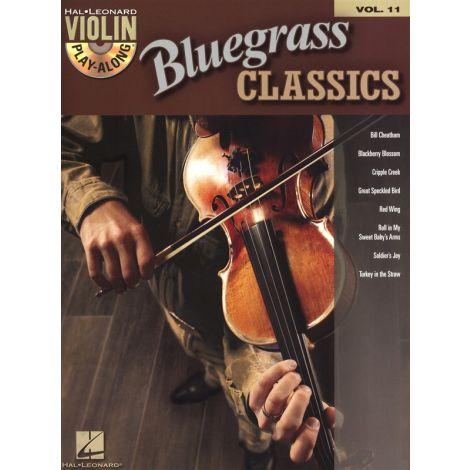 Violin Play-Along Volume 11: Bluegrass Classics