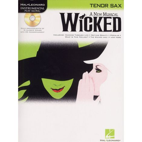Hal Leonard Instrumental Play-Along: Wicked (Tenor Saxophone)