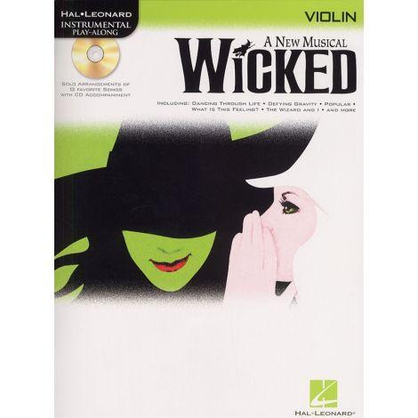 Hal Leonard Instrumental Play-Along: Wicked (Violin)