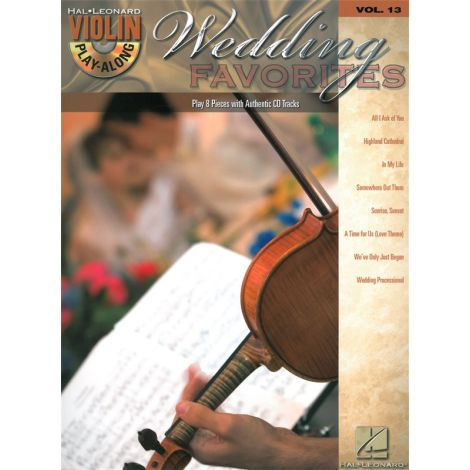 Violin Play-Along Volume 13: Wedding Favourites