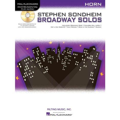 Horn Play-Along: Stephen Sondheim - Broadway Solos