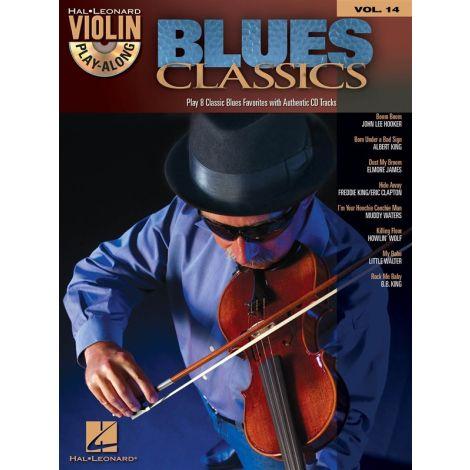 Violin Play-Along Volume 14: Blues Classics