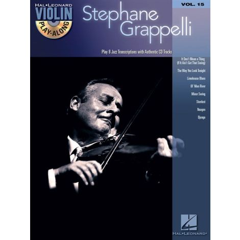 Violin Play-Along Volume 15: Stephane Grappelli