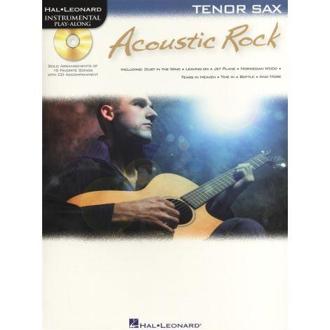 Instrumental Play-Along: Acoustic Rock (Tenor Saxophone)