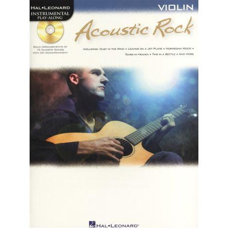 Instrumental Play-Along: Acoustic Rock (Violin)