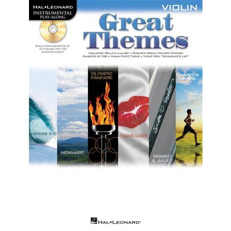 Violin Play-Along: Great Themes