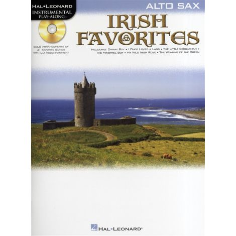 Instrumental Playalong: Irish Favourites - Alto Saxophone