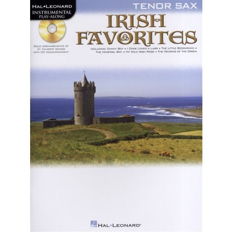 Instrumental Playalong: Irish Favourites - Tenor Saxophone