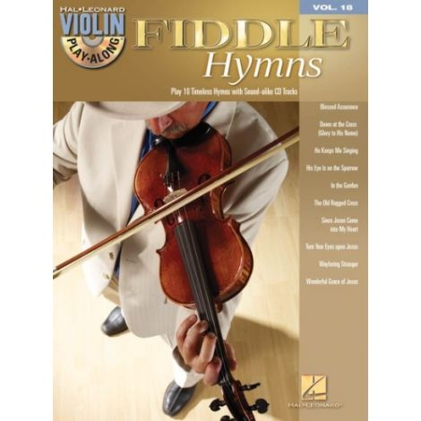 Violin Play-Along Volume 18: Fiddle Hymns (Book & CD)
