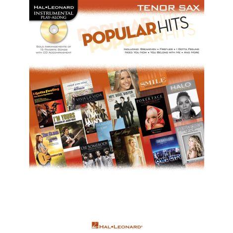 Instrumental Play-Along: Popular Hits - Tenor Saxophone
