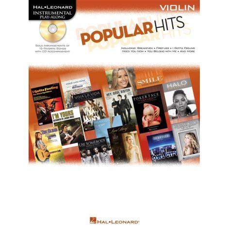 Instrumental Play-Along: Popular Hits - Violin (Book/Online Audio)