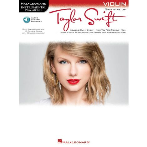 Instrumental Play-Along: Taylor Swift (Violin) (Book/Online Audio)