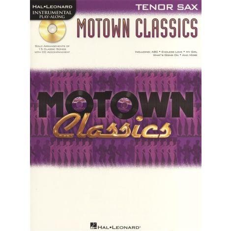 Instrumental Play-Along: Motown Classics - Tenor Saxophone