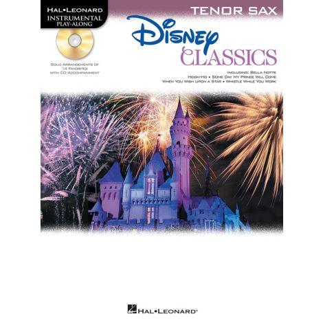 Tenor Saxophone Play-Along: Disney Classics