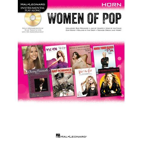 Hal Leonard Instrumental Play-Along: Women of Pop - Horn