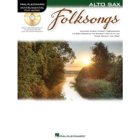 Alto Saxophone Play-Along: Folksongs