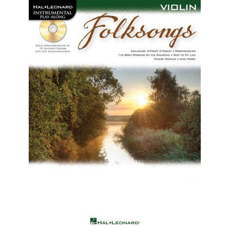 Violin Play-Along: Folksongs