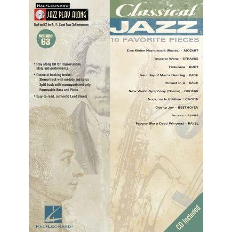 Jazz Play-Along Volume 63: Classical Jazz