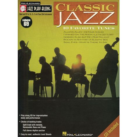Jazz Play-Along Volume 69: Classic Jazz (Book And CD)