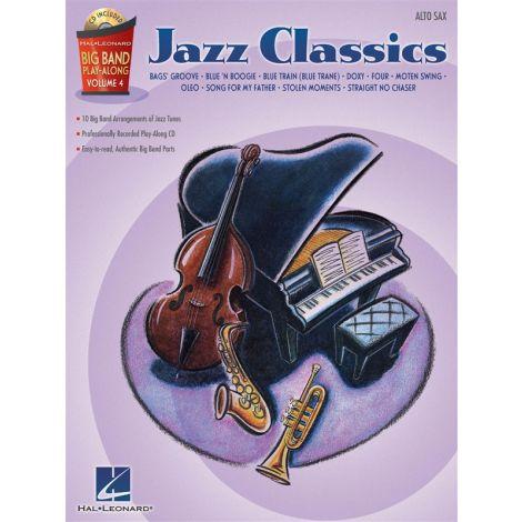 Big Band Play-Along Volume 4 - Jazz Classics (Alto Saxophone)