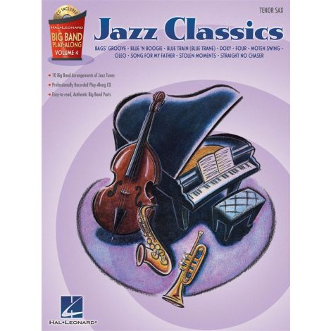 Big Band Play-Along Volume 4 - Jazz Classics (Tenor Saxophone)