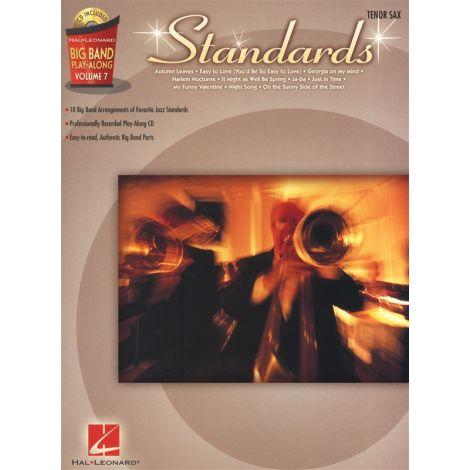 Big Band Play-Along Volume 7: Standards - Tenor Saxophone