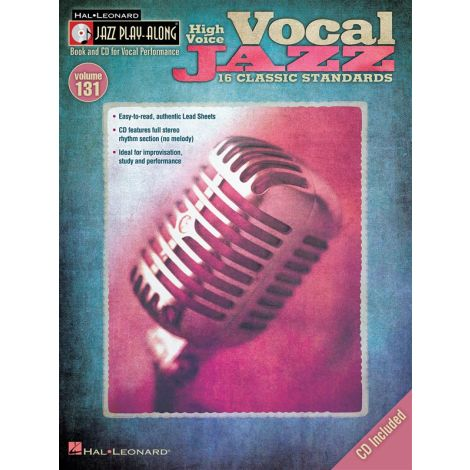 Jazz Play-Along Volume 131: Vocal Jazz (High Voice)