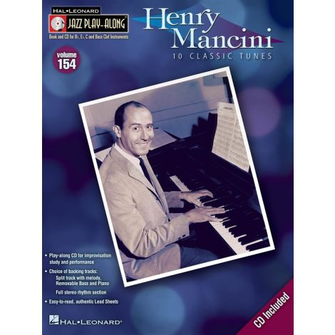 Jazz Play-Along Volume 154: Henry Mancini
