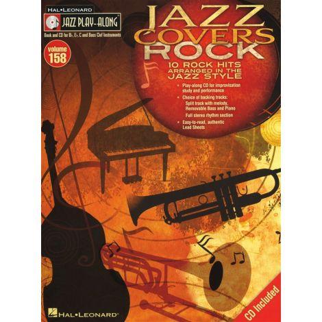Jazz Play-Along Volume 158: Jazz Covers Rock