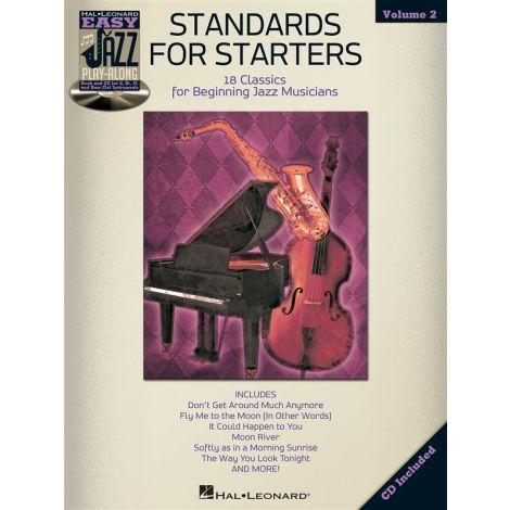 Easy Jazz Play-Along Volume 2: Standards For Starters