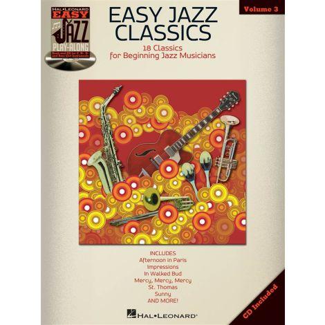 Easy Jazz Play-Along Volume 3: Easy Jazz Classics