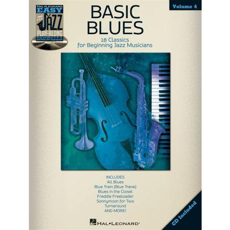 Easy Jazz Play-Along Volume 4: Basic Blues