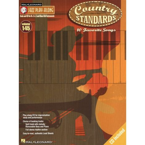 Jazz Play-Along Volume 145: Country Standards