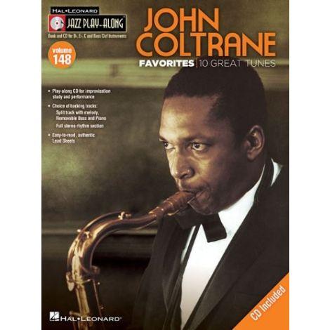 Jazz Play-Along Volume 148: John Coltrane Favorites