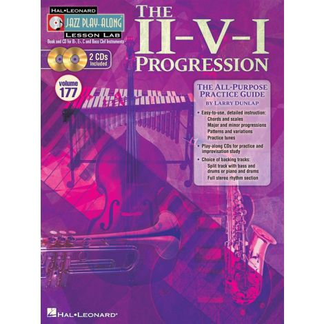 Jazz Play-Along Lesson Lab Volume 177: The II-V-I Progression